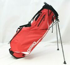 New Ogio Shadow Fuse 304 4-Way 2019 Stand Carry Golf Bag - Red