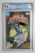 Elvira's House of Mystery #11 CGC 9.6 Dave Stevens Cover White Pages