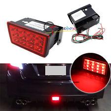 Red Lens F1 Style LED Rear Fog Light Brake/Tail Lamp For Subaru WRX STi XV..