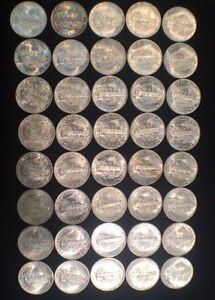 US Mint 1944-P Mercury Dimes in Brilliant Uncirculated Condition