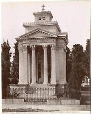 Italia, Milano, Cimitero Monumentale Vintage print, Italie Tirage albuminé