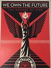 We Own The Future 2013 Shepard Fairey Limited Print Signed Obey Giant/450 Nation