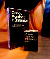 Cards Against Humanity Base Set Party Home Game Version & First Expansion Pack.