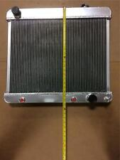 "Vintage Street Hot Rod Radiator 3 Row w/ Trans Cooler Custom 23.4"" x 25"""
