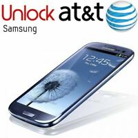 FACTORY UNLOCK CODE SERVICE FOR AT&T SAMSUNG GALAXY S2,S3,S4,S5 ,S6 NOTE 1,2,3,4