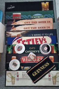 Job lot Bar runner ashtray pub memorabilia bundle-carling Jack daniels guinness