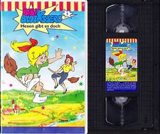 VHS Bibi Blocksberg 1 - Hexen gibt es doch - KIOSK - Videokassette