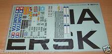 Rimorchio CONTAINER 56326 Tamiya Maersk, 9495675/19495675 Decalcomanie/Adesivi, Nuovo con imballo