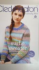 Cleckheaton Pattern Book #1009 Surfie Sweater to Knit in California Yarn