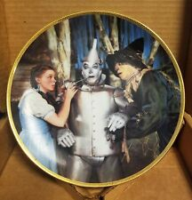 Mgm Wizard of Oz The Tin Man Speaks Hamilton Collectors Plate. Oil Can!