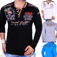 ZAHIDA Men's Sweat-Shirt Long sleeve Shirt Sweatshirt T-Shirt M XXL NEW