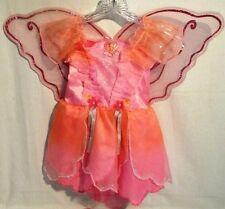 Barbie Fairytopia Elina Dress Up Play Costume  Sz 2-4