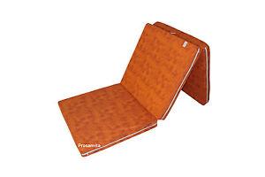 Klappmatratze Gästebett Faltmatratze Notbett Farbe orange