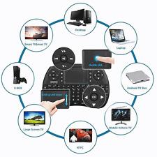 MINI TASTIERA WIRELESS WIFI SMART TV ANDROID PC XBOX 360 PS3 SMARTPHONE 2.4 GHZ