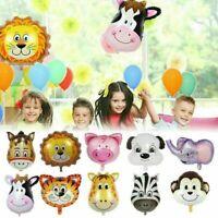 Animal Foil Balloons Helium Farm Animal Lion Baby Shower Birthday Party Decor
