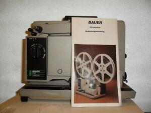 16mm Filmprojektor Bauer P8 T Selection Professional sehr selten / Retro