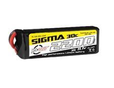RC-G30-2200-3S1P Li-Po - Sigma 30C 2200 mAh - 3S1P - 11.1V - XT-60