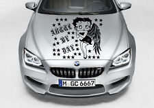 BETTY BOOP ANGEL DECAL VINYL GRAPHIC HOOD SIDE CAR TRUCK
