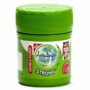 AMRUTANJAN Strong Pain Balm Double Power for Strong Headache | Back pain Herbal