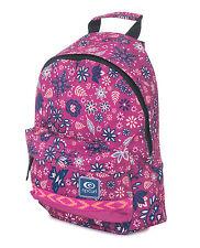 Rip Curl Womens Backpack.mandala Pink Double Dome Large Rucksack Bag 7w Ju4 5871