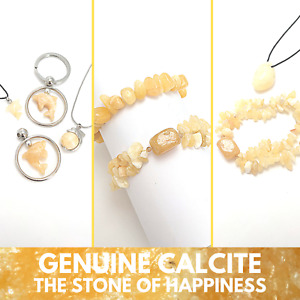 Pack of 5pcs CALCITE Genuine Gemstone Wholesale Bracelets Pendants or Charms