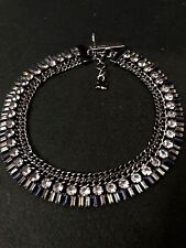 BCBG MAXAZRIA Corded Multi-Colored Stone Necklace