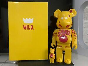 Medicom Bearbrick X Wild 400% + 100%