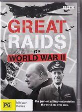 Great Raids of World War II 2007 DVD War Doco Excellent condition FREE POST