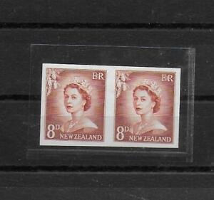 New Zealand,1953,Queen,imperf,MNH,Sc-Mi,not listed