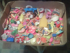 Barbie mixed lot of parts combs accessories etc played with