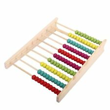 Wooden 100 Beads Abacus Counting Number Preschool Kid Math Learning Teaching Aid
