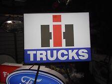 International Trucks Lighted Sign