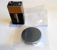 LARGE - Beryllium Metal Cylinder 99.99% pure element - 36mm dia - museum grade!
