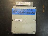 2000 FORD FOCUS A/T ECU / ECM #98AB-12A650-AHH  *see item description*(F-2738)