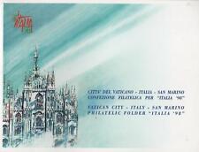 1998 Giornata del francobollo -I+RSM+CDV- mixed folder