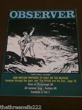 OBSERVER - HOW BRITIAN PREPARED TO FIGHT ON THE BEACHES - JULY 21 1974