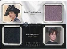 DOWNTON ABBEY SEASON 1&2 DOUBLE WARDROBE CARD CORA CRAWLEY & SARAH O.BRIEN DW05
