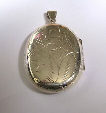 Sterling Silver Extra Large Domed Locket 16.9g