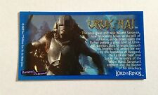 Lord Of The Rings - Bassett / Barratt Trading Cards - Uruk-Hai - Cigarette Cards