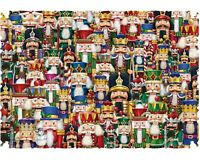 Wentworth Wooden Jigsaw Puzzle Festival of Nutcrackers 40 Pieces NEW