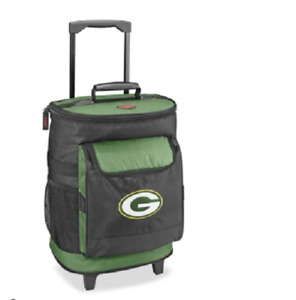 NFL Green Bay Packers Rolling Cooler Football Team Tailgating - New