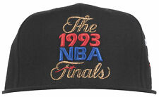 Mitchell and Ness Chicago Bulls 1993 NBA Finals Snapback Hat Headwear Mens Black