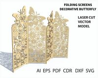 MDF Decorative Cube Archive DXF for CNC Router and Laser Cutting Party Woodwork