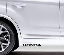2x Side Skirt Stickers Honda Civic Accord Premium Qaulity Graphics Decals VL20