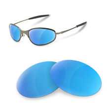 Polarized Replacement Lenses for oakley a wire think ice blue