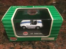 1/87 Scale Ford Shelby Cobra White Diecast