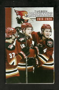 Tucson Roadrunners--2019-20 Pocket Schedule--Fox Sports--AHL--Coyotes Affiliate