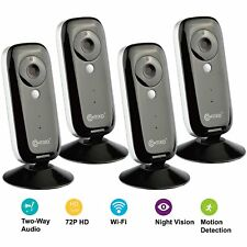 4Pk Contixo E1 Baby Monitor Home Security Camera Motion Sensor 720p WiFi Camera