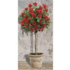 Malen nach Zahlen Rotes Rosenbäumchen Schipper 609220776 Rosenbaum rot