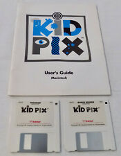 Kid Pix Creative Learning Games Macintosh Floppy Discs Vintage Computer